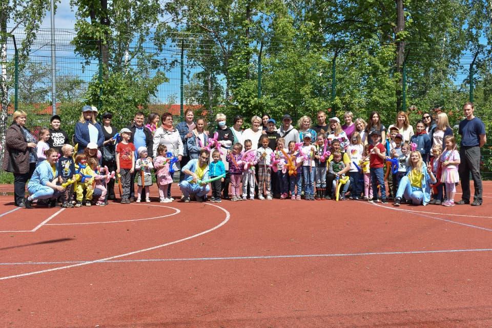 Фотографии с праздника в честь Дня защиты детей