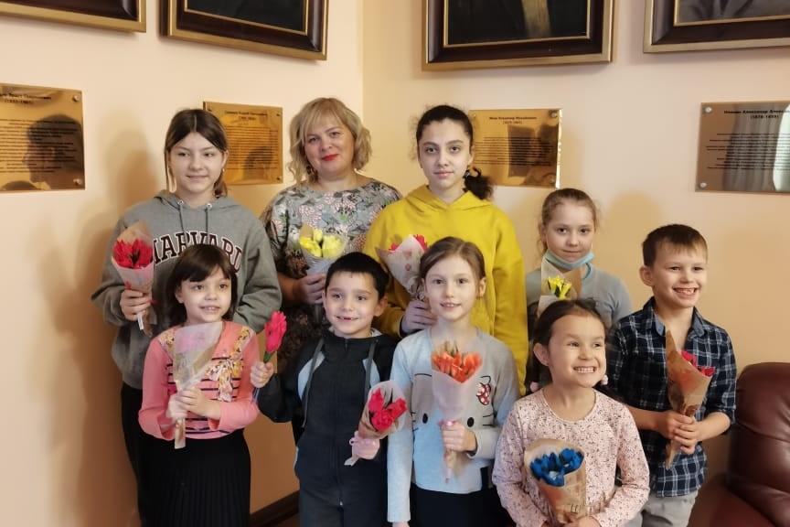 Букет для мамы: мастер-класс для детей 6 марта